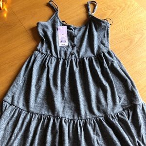 Wild Fable Gray Babydoll Dress